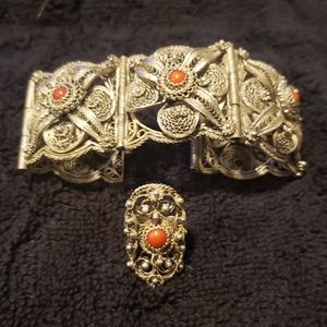 WONDERFUL ANTIQUE AUSTRO-HUNGARIAN STERLING SILVER